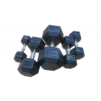 Hantla ogumowana HEX 25 kg AC-17010