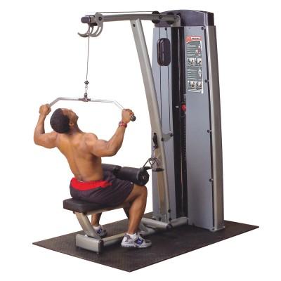 Maszyna ze stosem dwufunkcyjna na plecy i klatkę piersiową Body Solid Pro Dual Line Bauer Fitness BSL-904