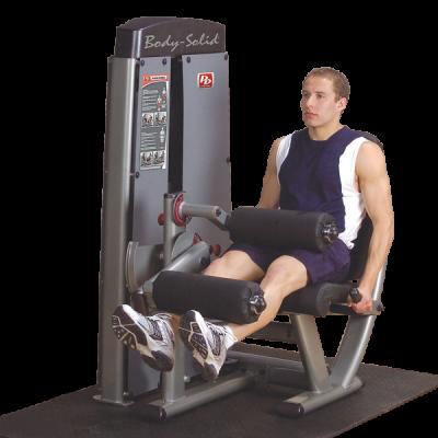 Maszyna ze stosem dwufunkcyjna na mięśnie dwugłowe i czworogłowe Body Solid Pro Dual Line Bauer Fitness BSL-906