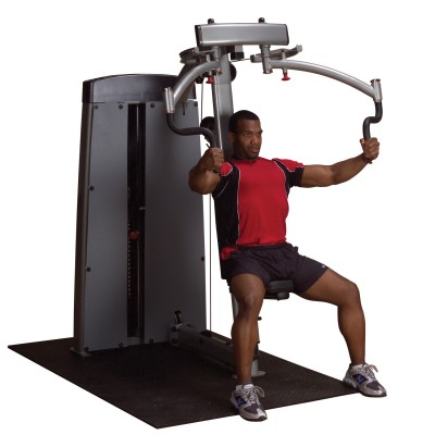 Maszyna ze stosem dwufunkcyjna na klatkę piersiową i obręcz barkową Body Solid Pro Dual Line Bauer Fitness BSL-907