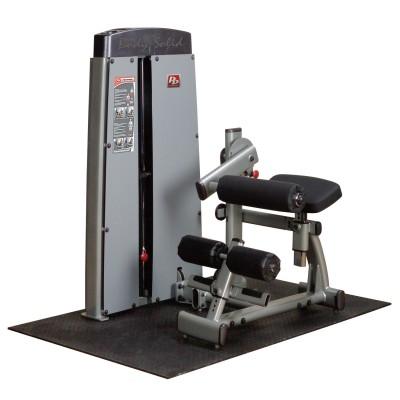Maszyna ze stosem dwufunkcyjna na mięśnie brzucha i prostowniki grzbietu Body Solid Pro Dual Line Bauer Fitness BSL-908