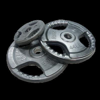 Obciążenie 2,5 kg olimpijskie gumowe economy AC-1202