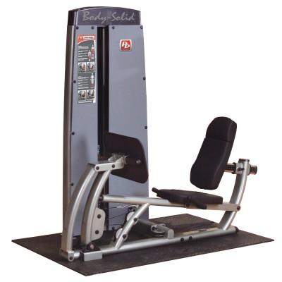 Maszyna ze stosem dwufunkcyjna na mięśnie ud i łydek Body Solid Pro Dual Line Bauer Fitness BSL-909