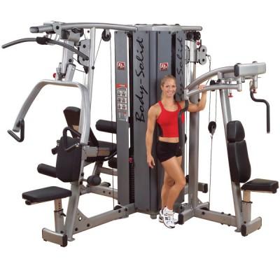Baza urządzenia wielofunkcyjnego Body Solid Pro Dual Line Bauer Fitness BSL-911