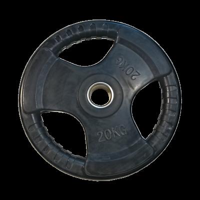 Obciążenie 20 kg olimpijskie gumowe economy AC-1206