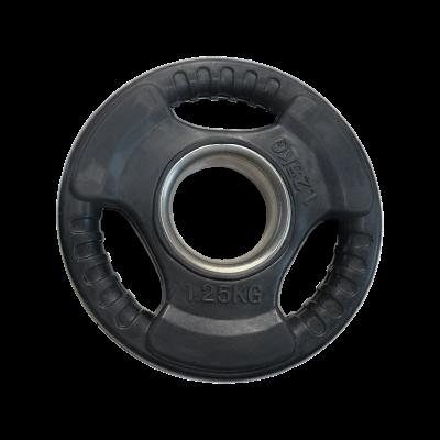 Obciążenie 1,25 kg olimpijskie gumowe economy AC-1201