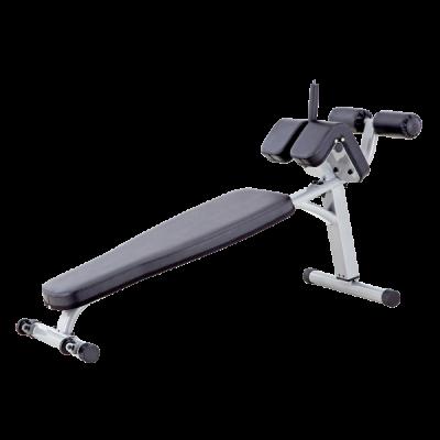 Banc Réglable Pour Les Muscles Abdominaux Bauer Fitness Nll 813
