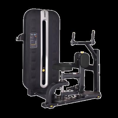 Maszyna na mięsnie skośne brzucha ze stosem Bauer Fitness PLM-603