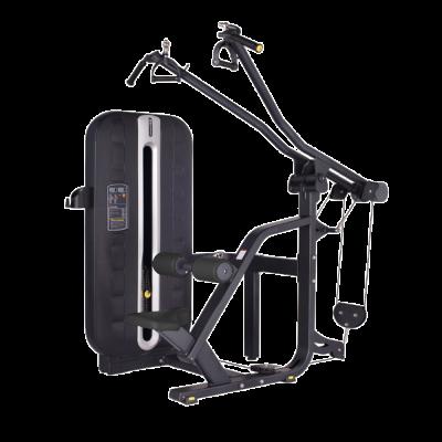 Maszyna na najszersze grzbietu- ściąganie z góry ze stosem Bauer Fitness PLM-621