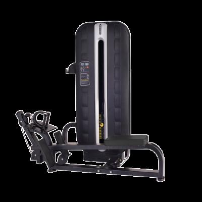 Maszyna na najszersze grzbietu- ściąganie w poziomie ze stosem Bauer Fitness PLM-622
