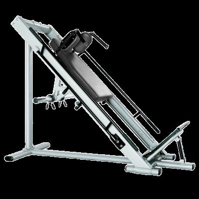 Maszyna do ćwiczeń mięśni ud i pośladków (hak maszyna) Bauer Fitness PLM-545