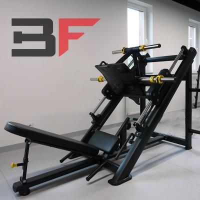 Maszyna do ćwiczeń mięśni ud i pośladków (suwnica na nogi) Bauer Fitness PLM-523