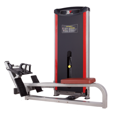 Maszyna na najszersze grzbietu- ściąganie w poziomie ze stosem Bauer Fitness PLM-522